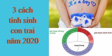 [Chia sẻ] 10 cách tính sinh con trai chuẩn và đúng nhất 2020